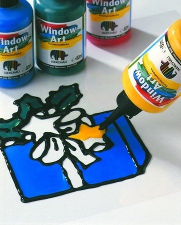 FARBA WITRAŻOWA WINDOW ART. NERCHAU 80 ML TERAKOTA